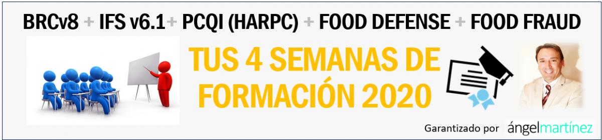 🥇Formación especializada en Inocuidad Alimentaria: PCQI y HARPC de EEUU 🏆